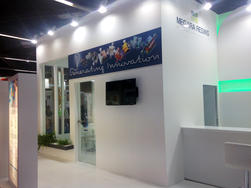 Megara exhibited with a booth at the largest trade fair of the